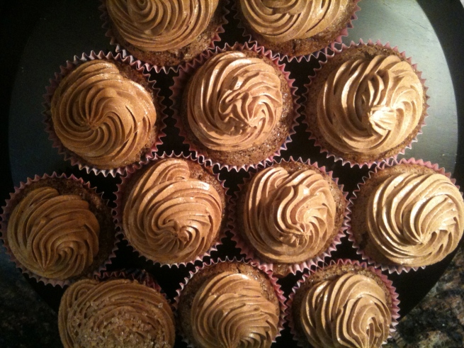 Gluten Free, Vegan, Nut-Free Chocolate Stout Cupcakes